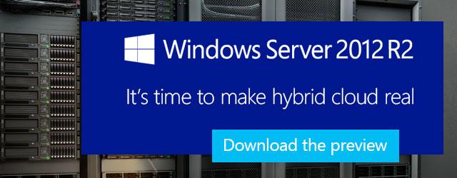 Новые возможности Windows Server® 2012 R2