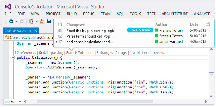 Visual Studio 2013 RC