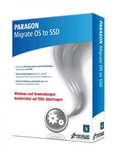 Paragon Migrate OS to SSD 2.0