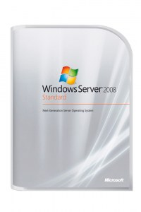 Microsoft Windows Server Standard Edition 2008 R2