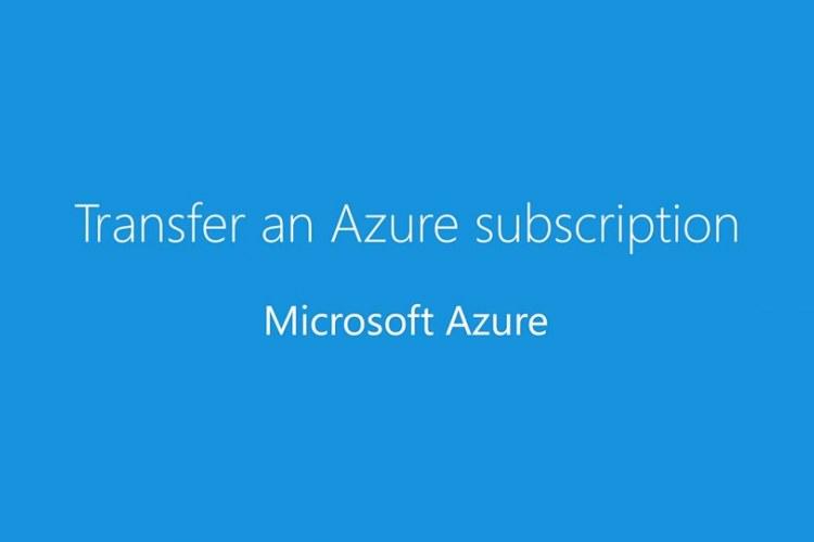 Трансфер подписок Microsoft Azure