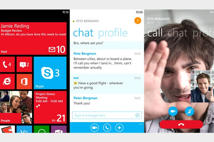 Skype для Windows Phone 8