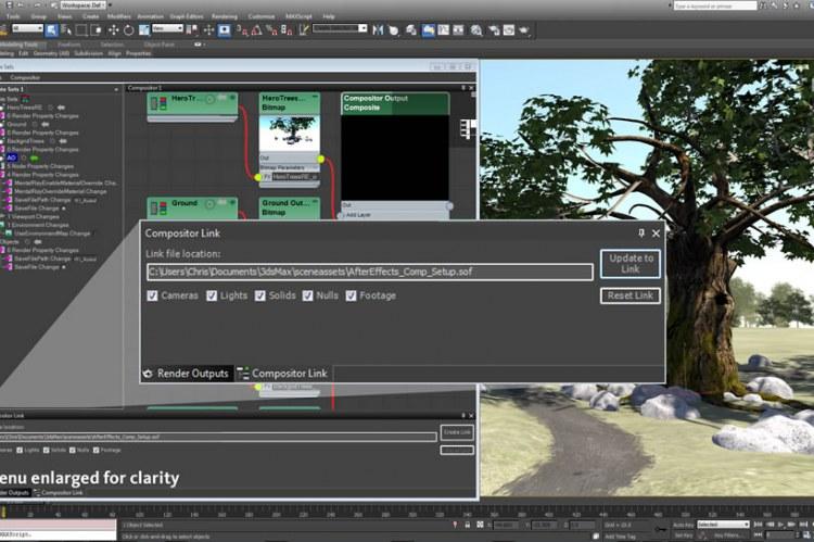 Взаимодействие с Adobe After Effects
