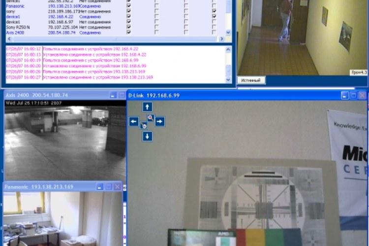 Unicam Recorder. DirerctShow. Скриншоты