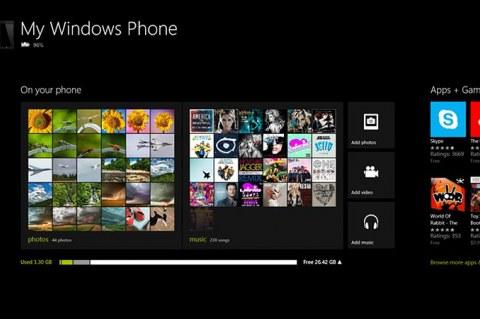 Синхронизация Windows Phone 8 с Windows 8 и RT