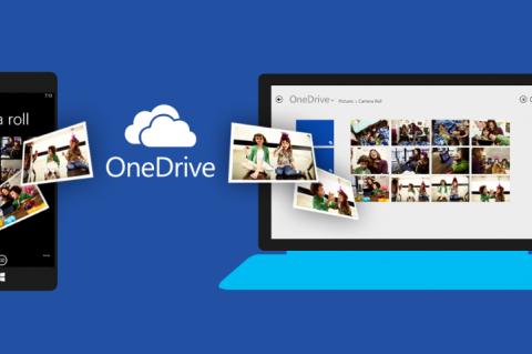 OneDrive из версии 8.1 будет перенесен в версию Windows 10