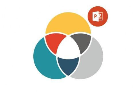 Как создать диаграмму Венна в Microsoft PowerPoint (Office 365)