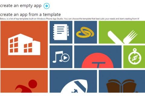 Windows Phone App Studio