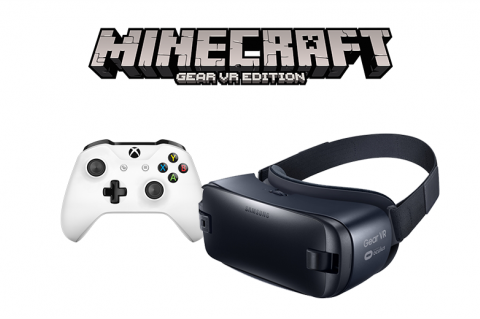 Xbox One Controller и Samsung Gear VR