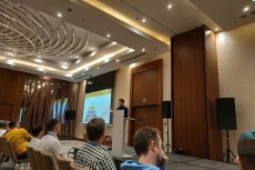 Последний докладчик на DrupalCamp в Минске