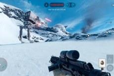 Star Wars: Battlefront. Мелкие AT-ST одним только видом внушают страх