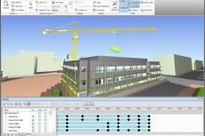 Autodesk Navisworks: анимация объектов при моделировании строительства