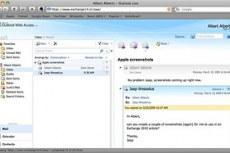 Скриншоты программы Microsoft Exchange Server