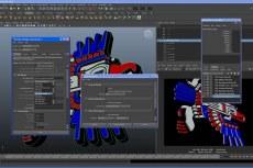 Maya позволяет работать с программами для 2D-рисования, создания векторной графики, редактирования, а также с некоторыми приложениями для композитинга