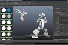 Преобразование 3D-сцен в анимацию в стиле мультфильмов с помощью набора средств Maya Toon