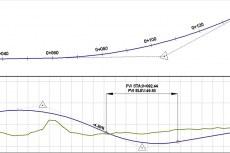 AutoCAD Civil 3D позволяет создавать трассы и профили с учетом стандартов предприятия