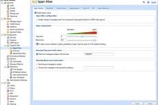 Настройка и управление спам-фильтром
