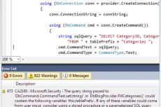 Microsoft Visual Studio Premium 2010. Выявление типичных ошибок программирования