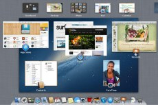 Mac OS X Mountain Lion. Mission Control
