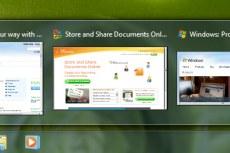 Windows 7. Активные вкладки