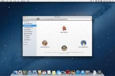 Mac OS X Mountain Lion. AirDrop