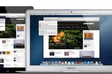 Mac OS X Mountain Lion. Вкладки iCloud в Safari