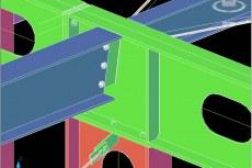 Проектировщики могут создавать модели строительных конструкций и чертежи армирования с помощью интеллектуальных объектов