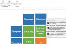 Visio стандартный 2013. Получение отзывов и ответ на них благодаря улучшенным средствам комментирования
